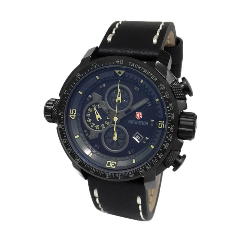 Expedition 6647MCLIPBAIV Black Jam Tangan Pria