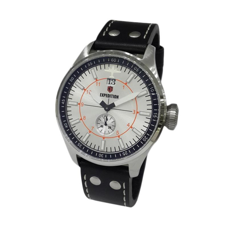 Expedition 6663MSLSSSL Silver Jam Tangan Pria
