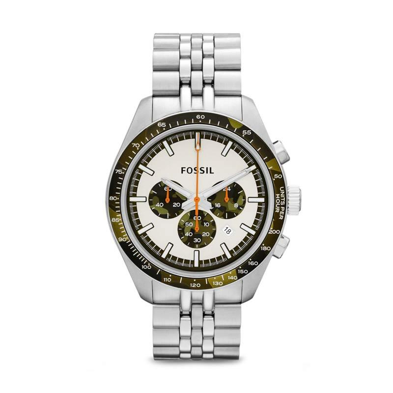 Fossil Edition CH2913 Jam Tangan Pria - Silver