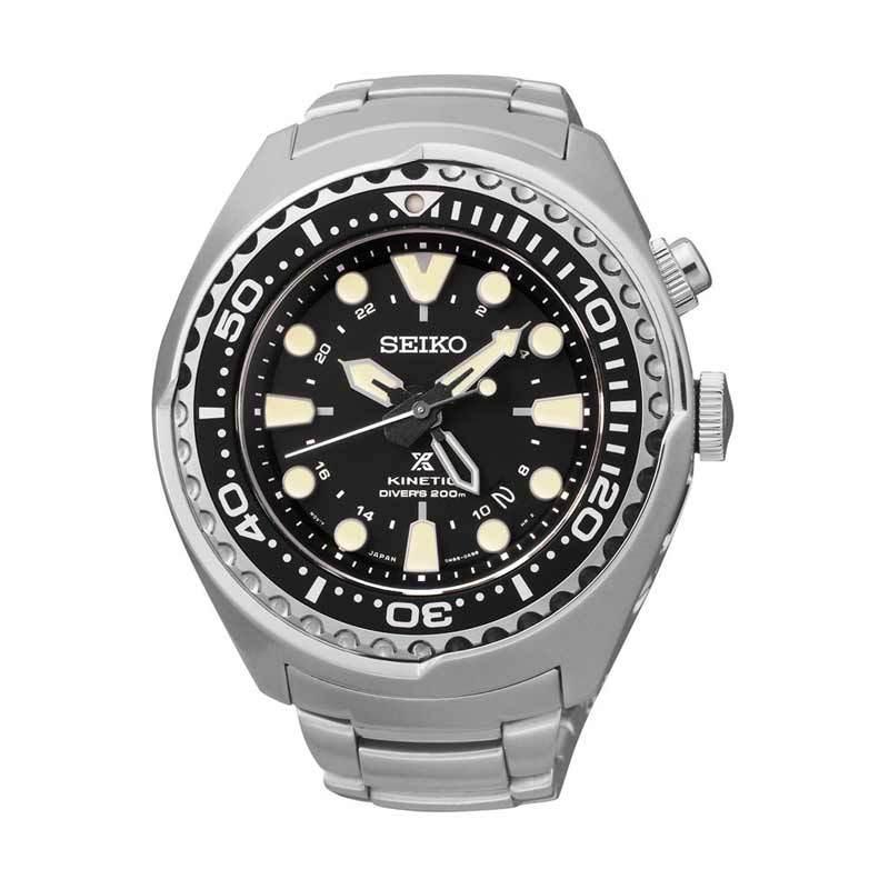 Jam Tangan Pria Seiko Prospex Kinetic GMT Diver's SUN019P1