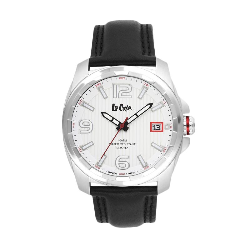 Lee Cooper Coventry LC-26G-A Silver Jam Tangan Pria