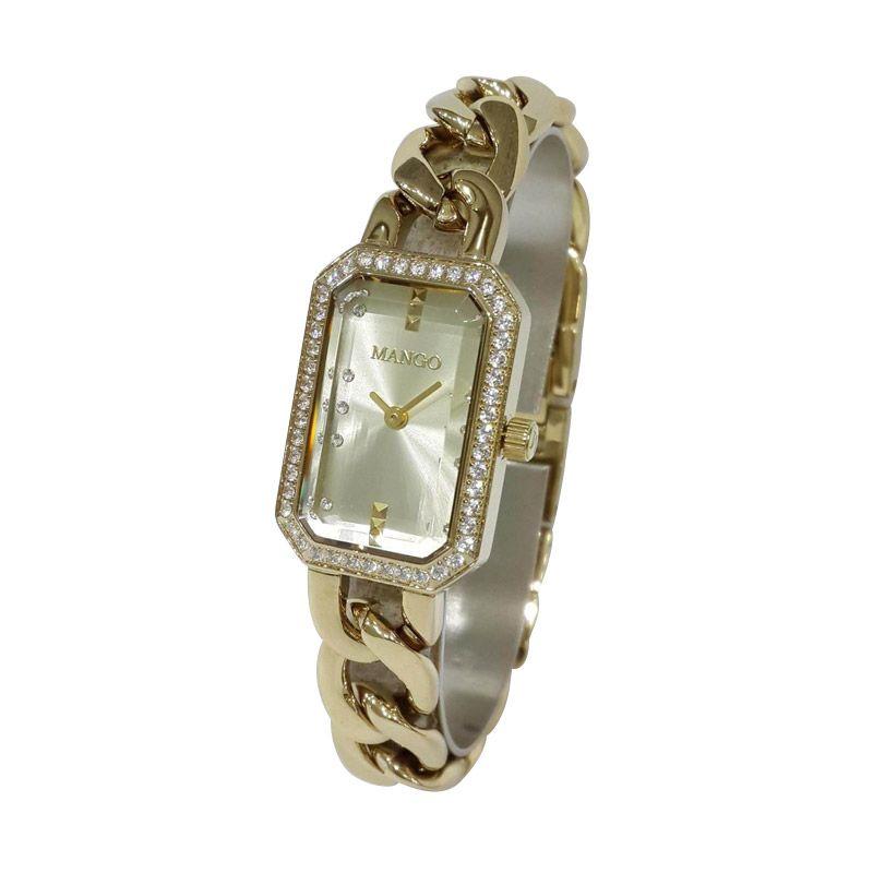 Mango MA6652L-13K Gold Jam Tangan Wanita