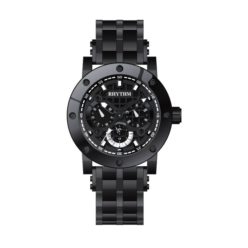 Rhythm Super Model I1204S02 Black Jam tangan Wanita