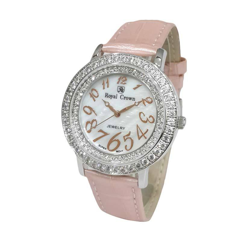Royal Crown 3632SSSLPN Jam Tangan Wanita