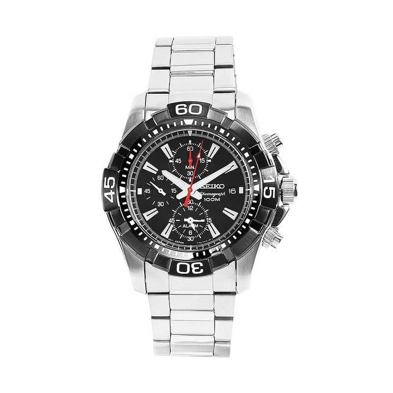 Seiko Chronograph Diver Alarm SNAE25P1