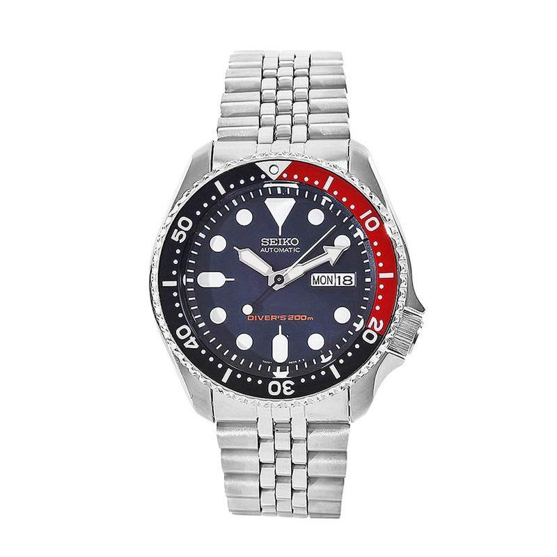 Seiko Divers SKX009K2 Silver Jam tangan Pria