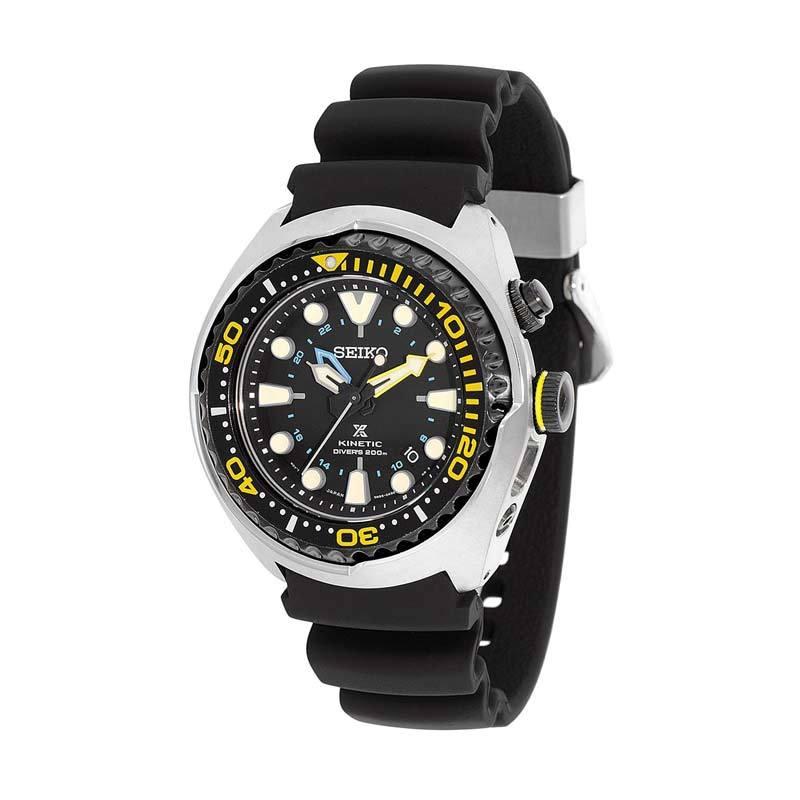 Jam Tangan Pria Seiko Prospex Kinetic GMT Diver's SUN021P1