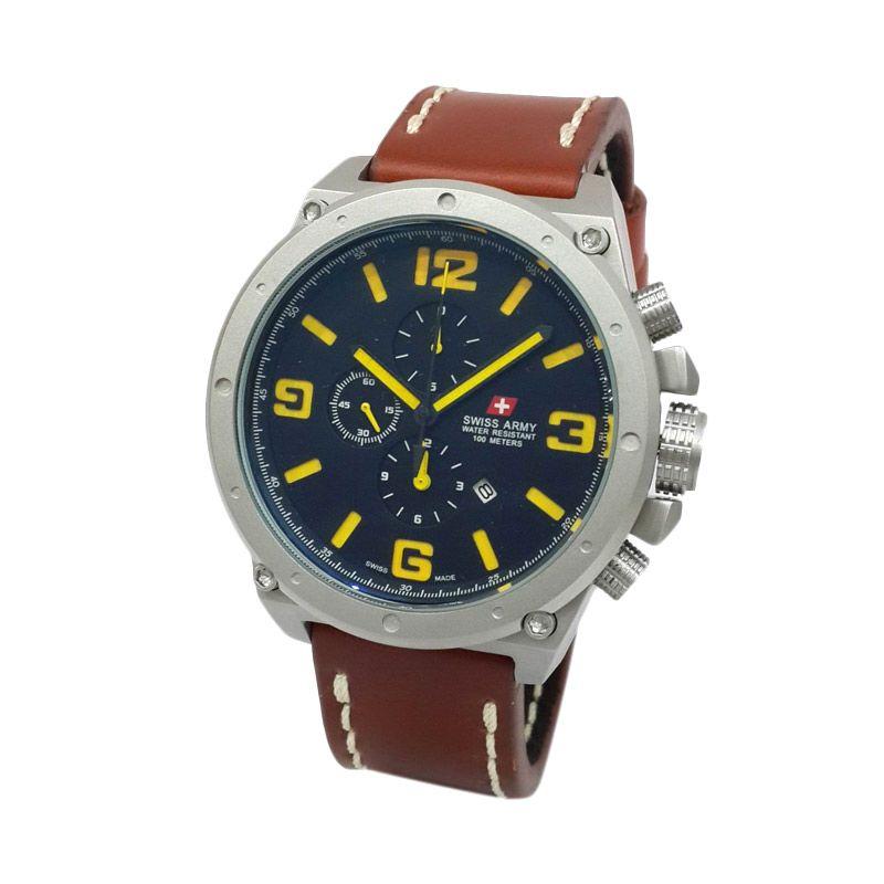 Swiss Army HC-8799MCLSSBAYLBO Jam tangan Pria