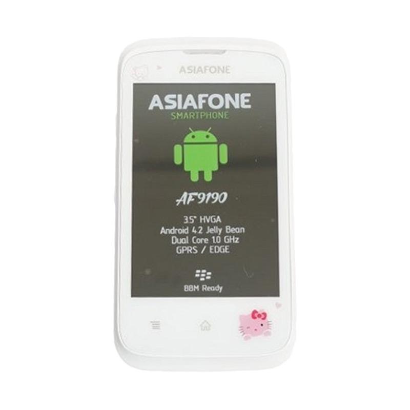 harga Asiafone AF9190 Hello Kitty Putih Smartphone Blibli.com