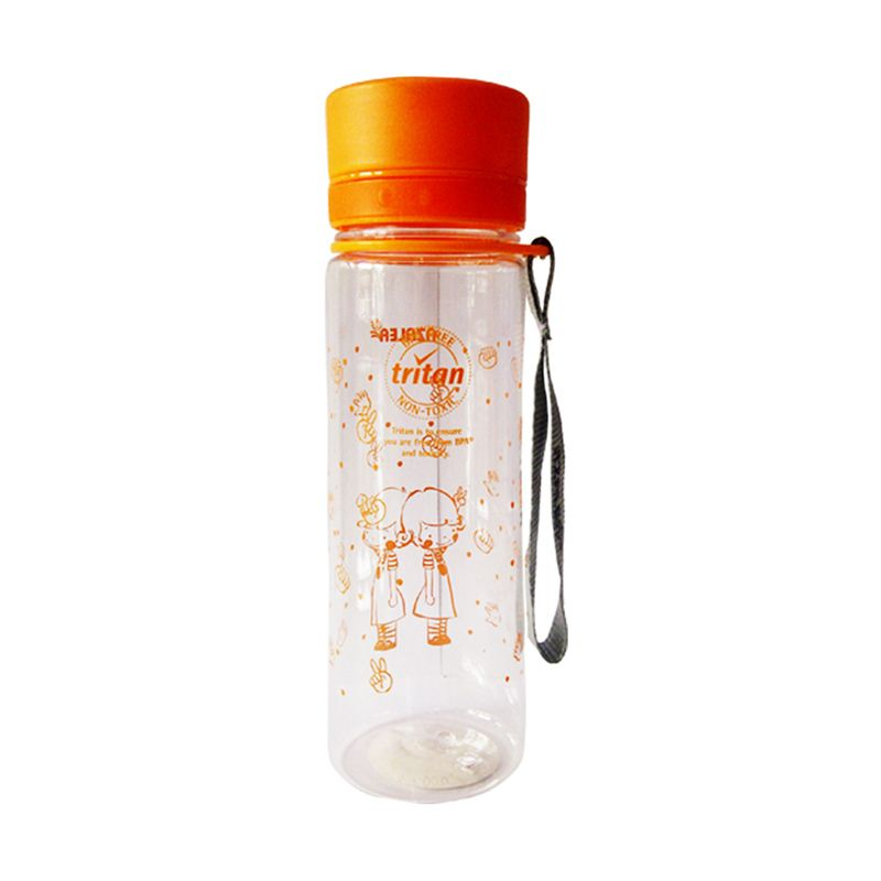Komax Fresh Orange Botol Minum [600 mL]