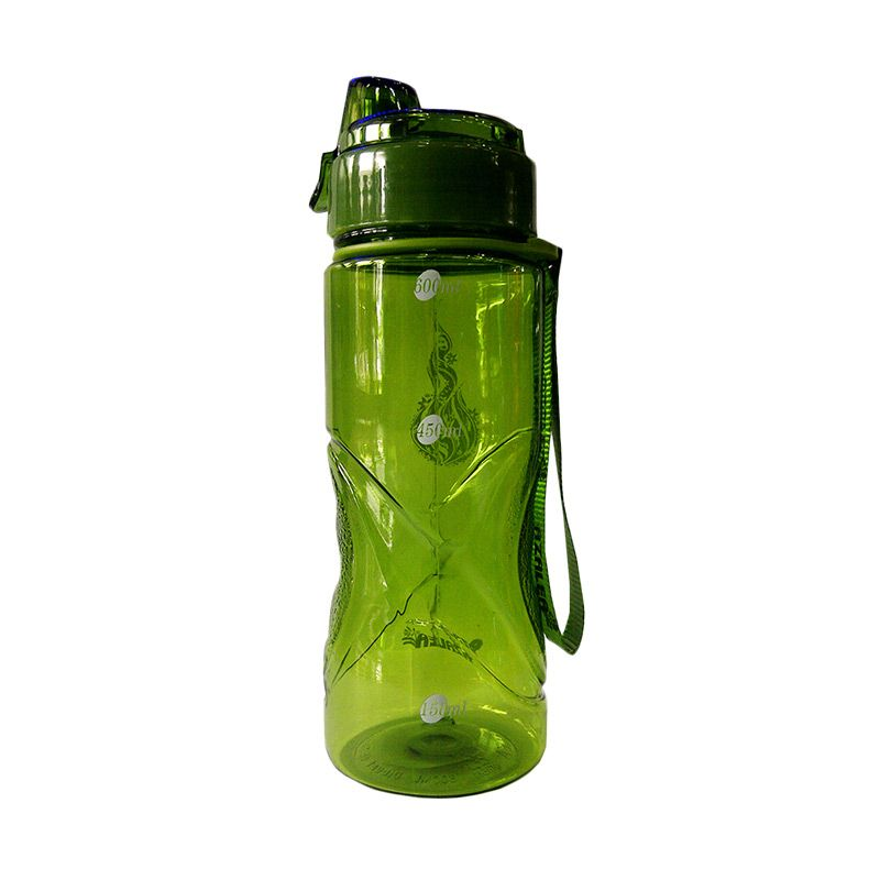 Komax Style Green Botol Minum [600 mL]