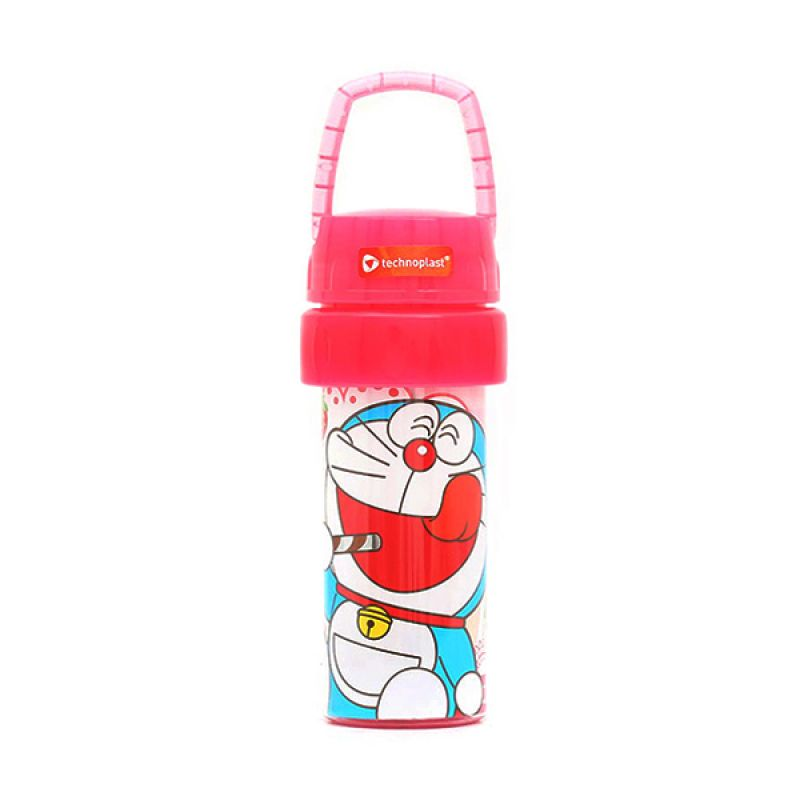 Nocy Doraemon Tumbler With Handle GH700.DRFT/72P Pink Botol Minum