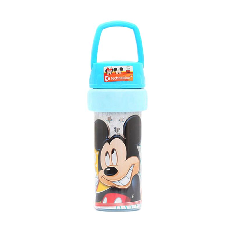 Nocy Mickey Mouse Tumbler With Handle GH700.MMAF/72P Biru Botol Minum