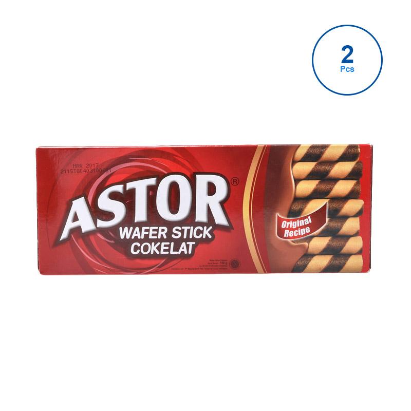 harga Astor Double Coklat [150 g/2 pcs] 313344 Blibli.com