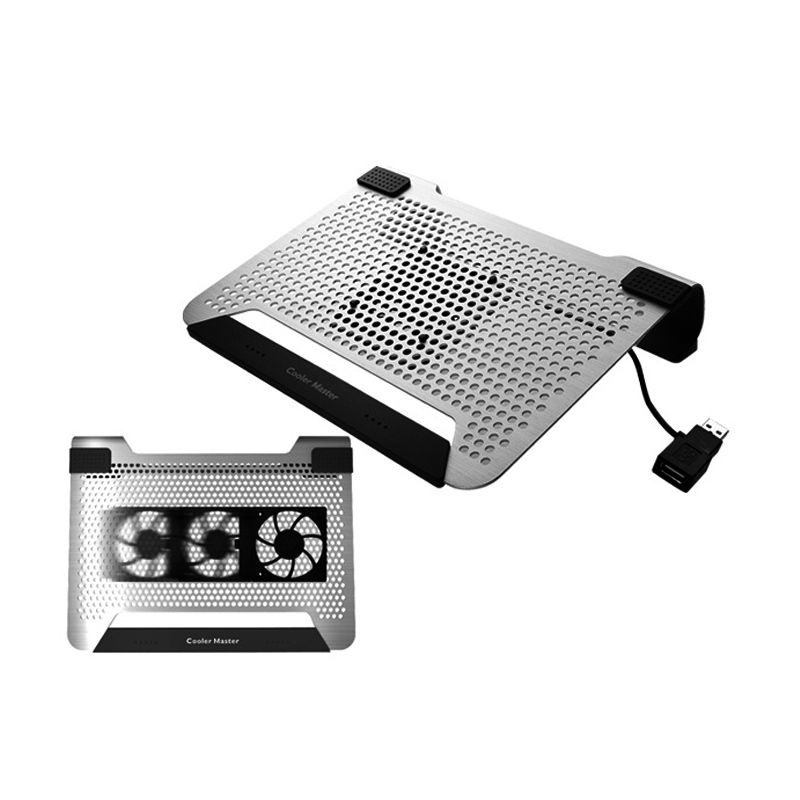Cooler Master Notepal U1 PLUS Silver Cooling Pad