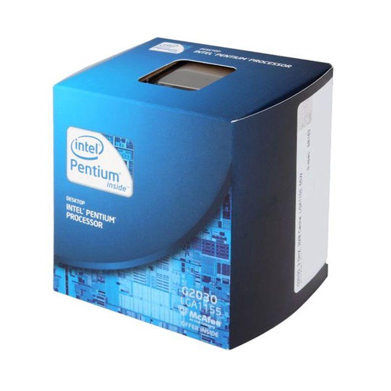 Intel Pentium Dual Core G2030 Processor (3.0 Ghz/Cache 6M/Socket LGA 1150/Garansi 3yr) BX80637G2030