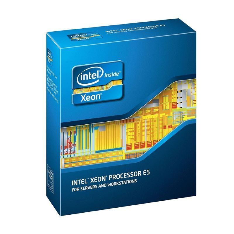 Intel XEON CPU 2.50 Ghz 4 Cores / 4 Thread/Cache 10M/Socket LGA 2011/Garansi 3yr (BX80635E52609V2)