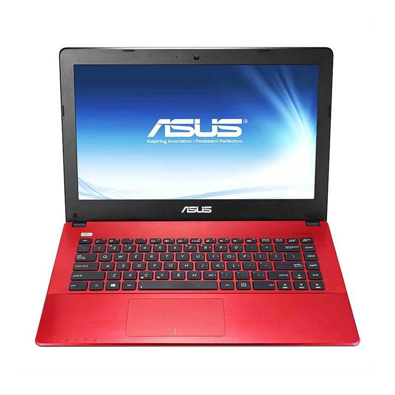 Asus A455LF-WX041D Merah Notebook [i5 5200/4GB/Nvidia GT930-2GB/14