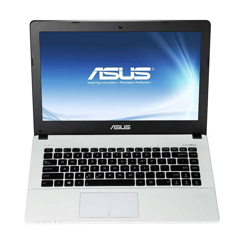 Asus A455LF-WX042D Putih Notebook [i5-5200/4GB/500/14Inch/VGA/DOS]