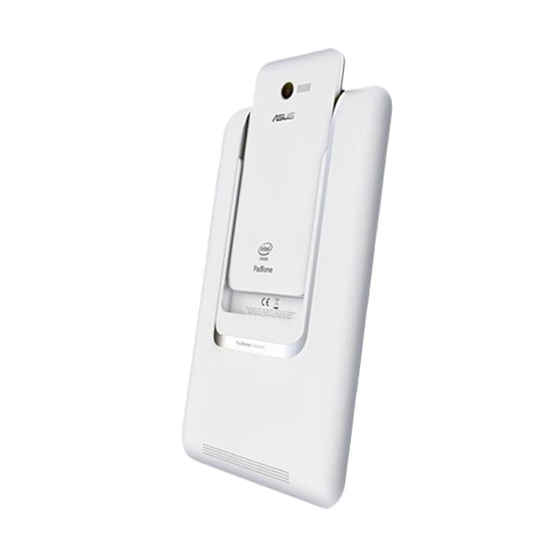 Asus Padfone Mini PF400CG Smartphone - Putih [8GB/ 1GB]