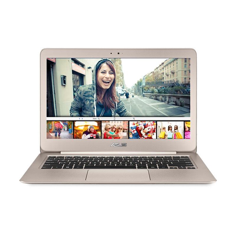 Asus UX305UA-FC049T Gold Notebook [13.3 Inch/ i5/ 256GB SSD/ Win 10] Extra diskon 7% setiap hari Extra diskon 5% setiap hari Citibank – lebih hemat 10%