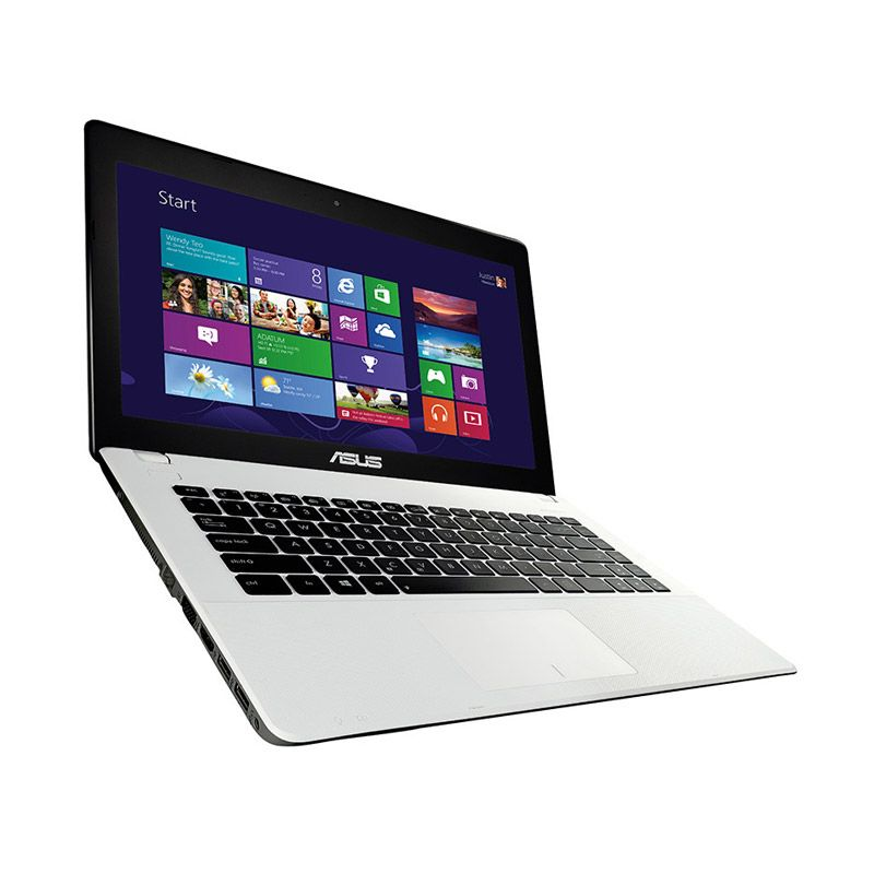 Asus X453MA-WX321B Putih Notebook [N2840/2 GB/Windows 8.1]