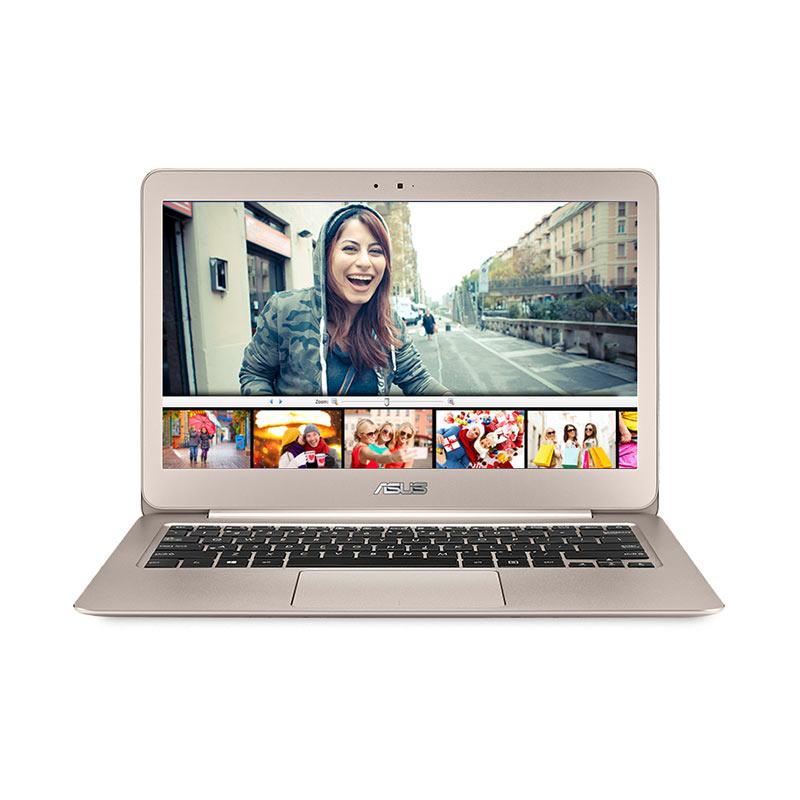 "Asus Zenbook UX305CA-FC148T Ultrabook - Gold [13.3"" FHD/Core M-6Y30/SSD/Win 10] Extra diskon 7% setiap hari Extra diskon 5% setiap hari Citibank – lebih hemat 10%"
