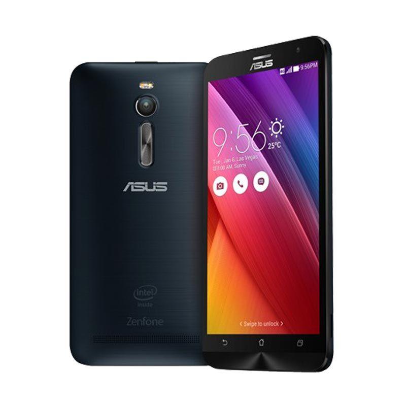 Asus Zenfone 2 ZE551ML Black Smartphone [4GBRAM/32GB]