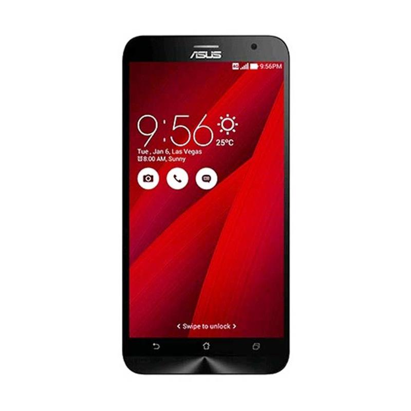 harga Asus Zenfone 2 ZE551ML Smartphone - Red [RAM 4GB/32GB/Grs Resmi] Blibli.com