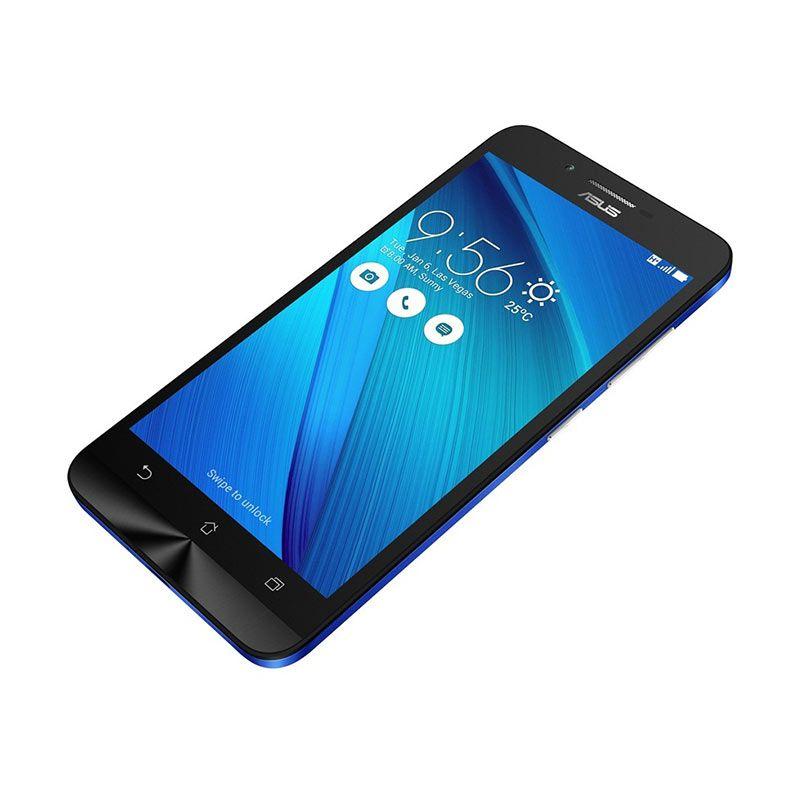 Asus Zenfone Go ZC500TG Royal Blue Smartphone [RAM 2 GB/8 GB/Garansi Resmi]