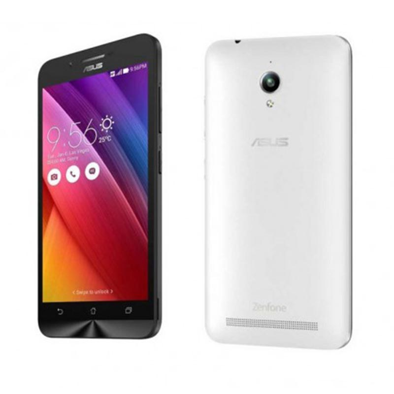 Asus Zenfone Go ZC500TG Smartphone - White [8 GB/ 2GB]