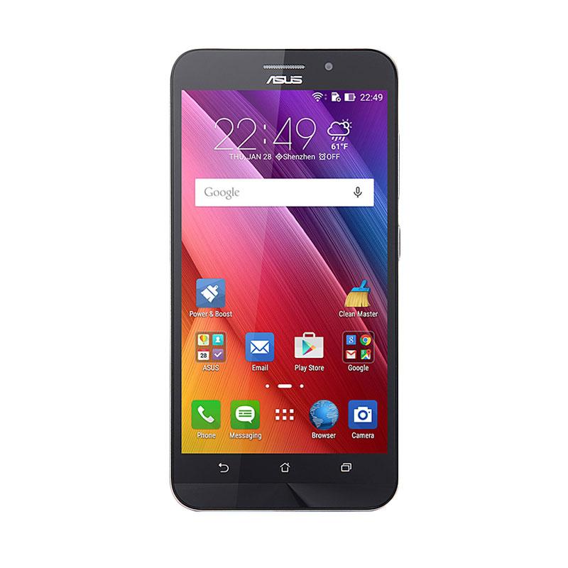 Asus Zenfone Max ZC550KL Smartphone - Black [2 GB/32 GB/Garansi Resmi Asus Indonesia]