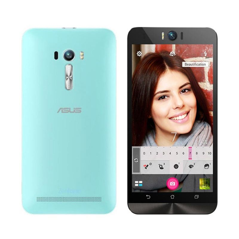 Asus Zenfone Selfie ZD551KL Biru Smartphone [32GB/5.5