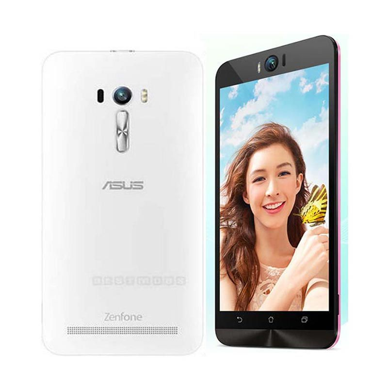 Asus Zenfone Selfie ZD551KL Smartphone - Putih [32GB/5.5inch/4G]