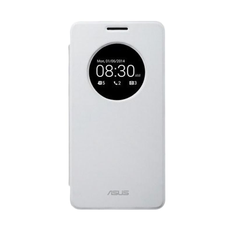 Asus Flip Cover White Casing for Zenfone 5