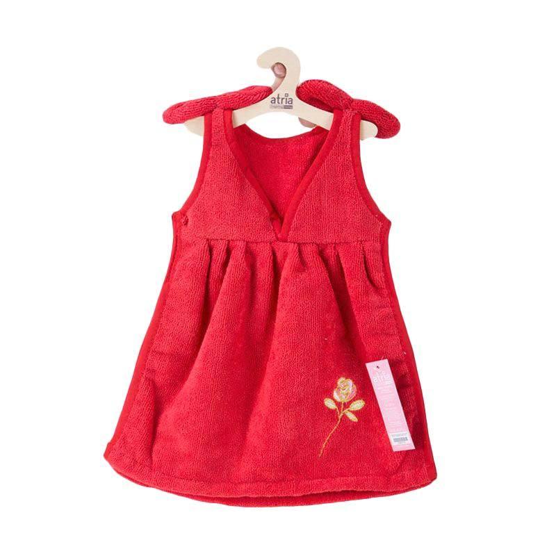 Atria Cheongsoon Dress Red Hand Towel Celemek