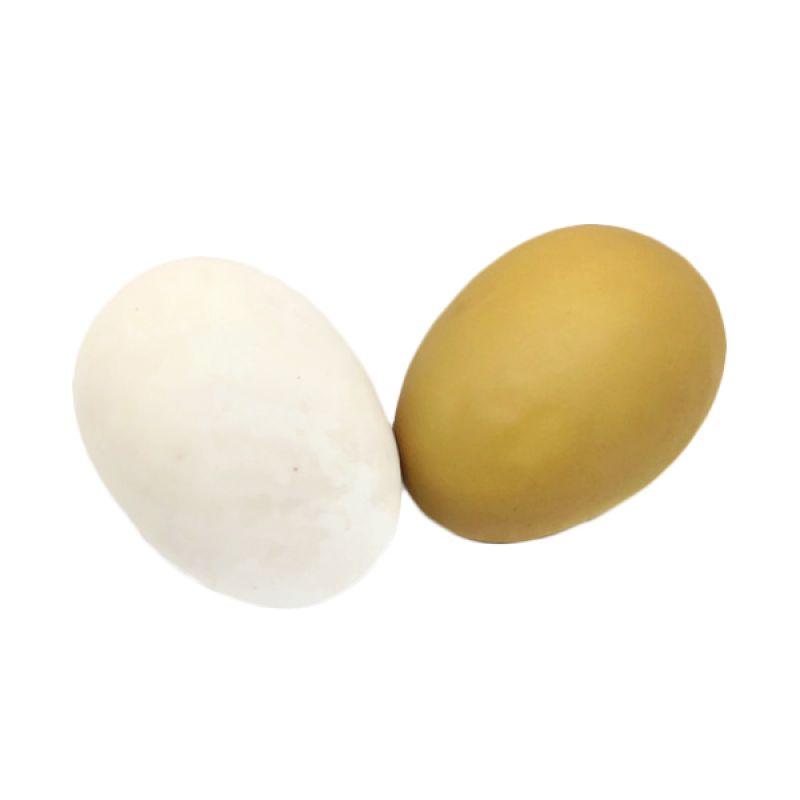 Atria Egg Art Telur Buatan Natural Dekorasi Meja Makan