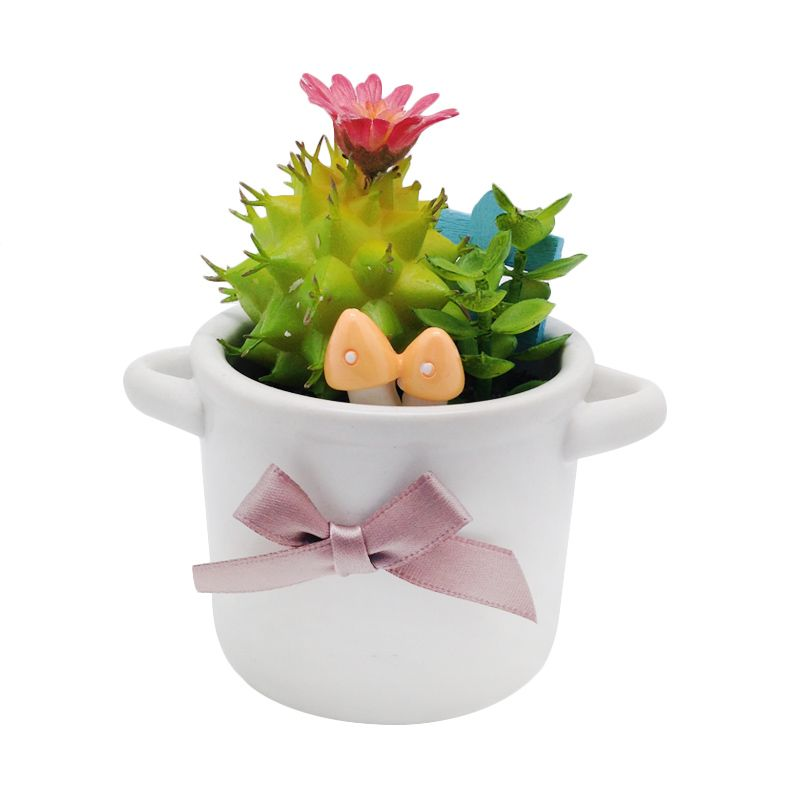 Atria Lobivia Artificial Cactus Multicolor Pajangan