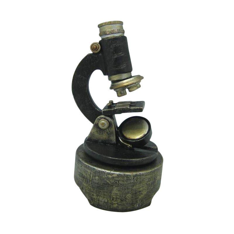 Atria Vintage Microscope Music Box Pajangan