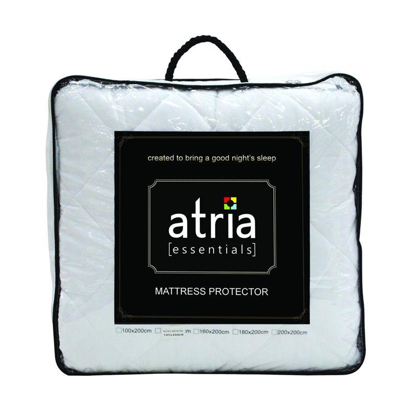 Atria Essentials White Mattress Protector [140 x 200 cm]
