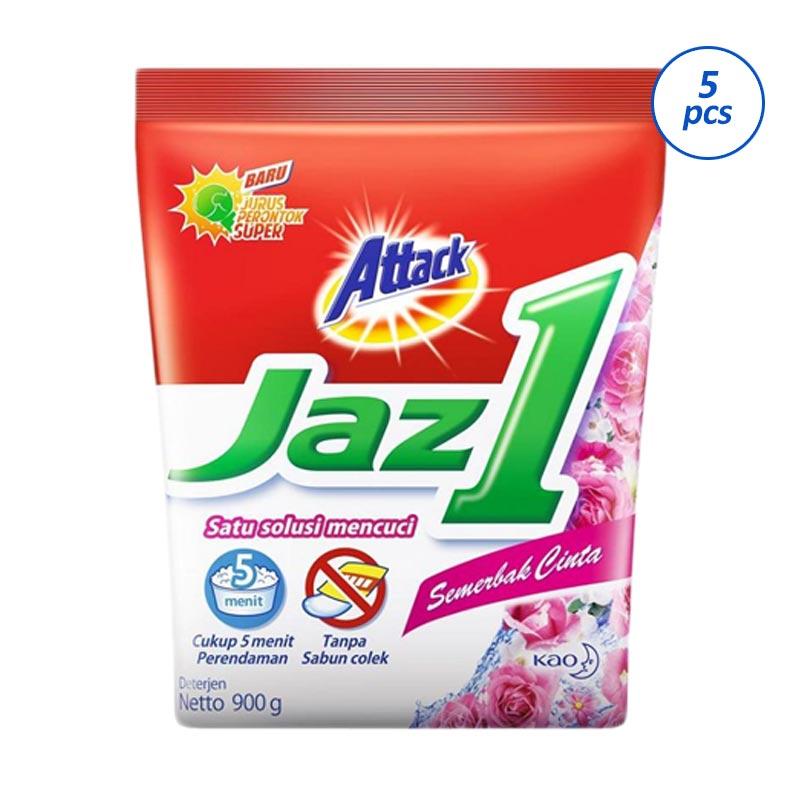 Attack Jaz 1 Semerbak Cinta Detergen [900 g/5 pcs]