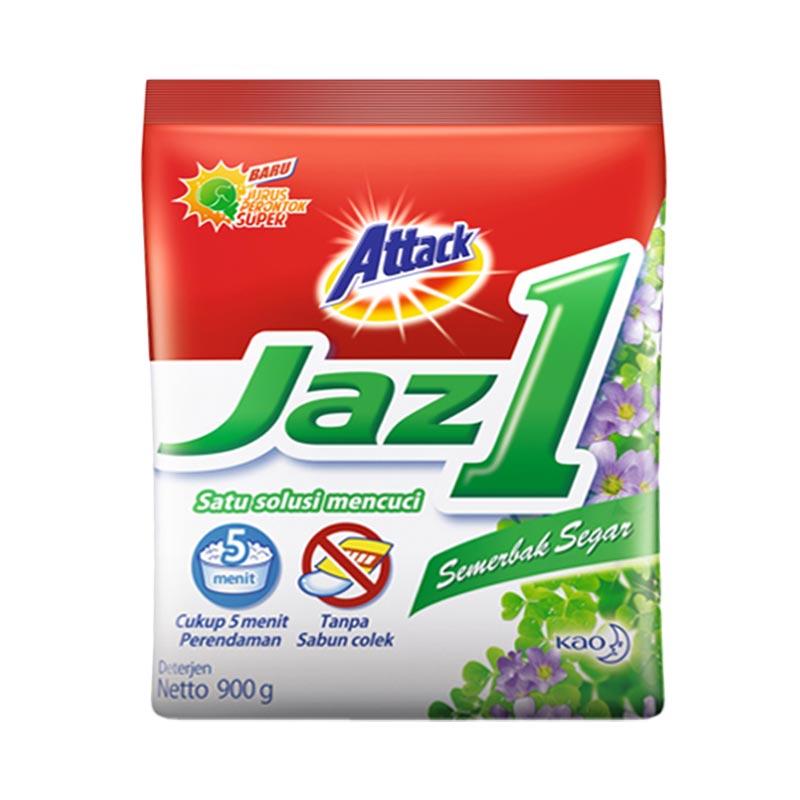Attack Jaz 1 Semerbak Segar Detergent [900 g]