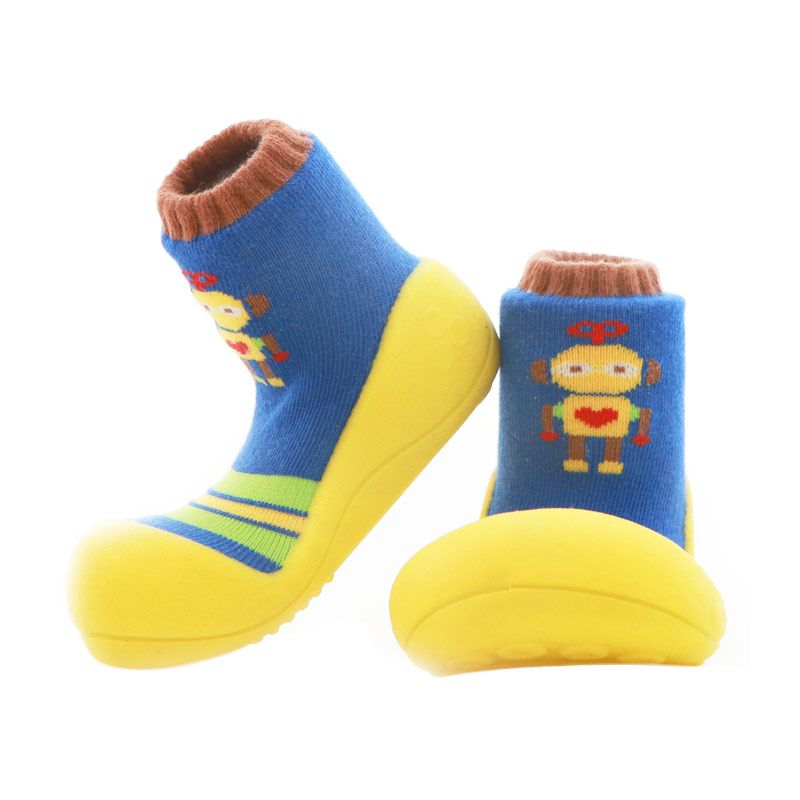 Attipas Baby Shoes Robot Yellow