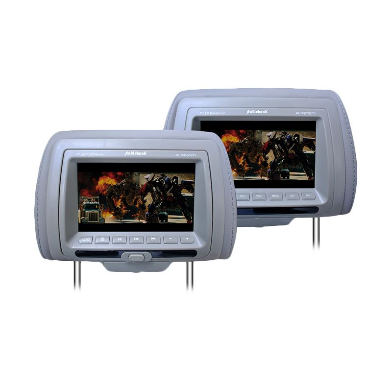 Audio Bank AB-769DVD/TV Mocca Headrest Monitor
