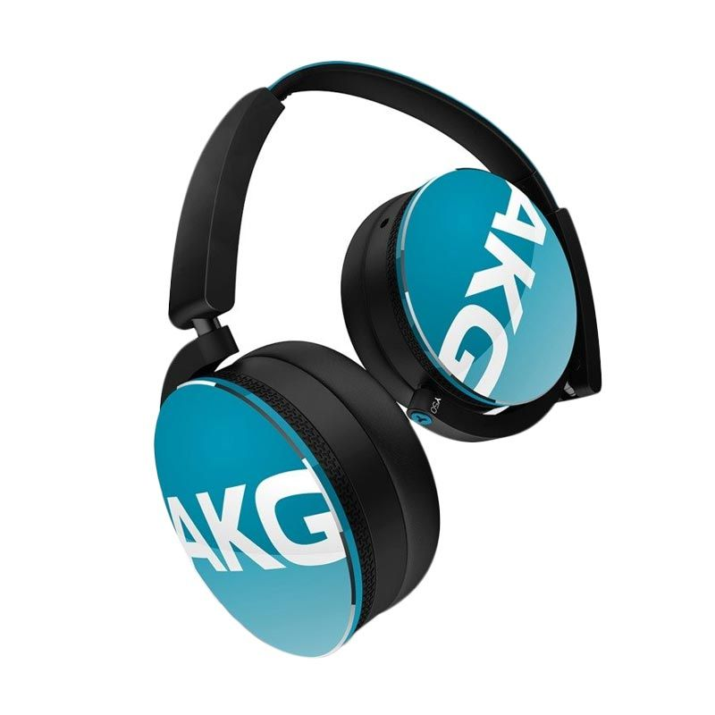 AKG Y50 Blue Headphone