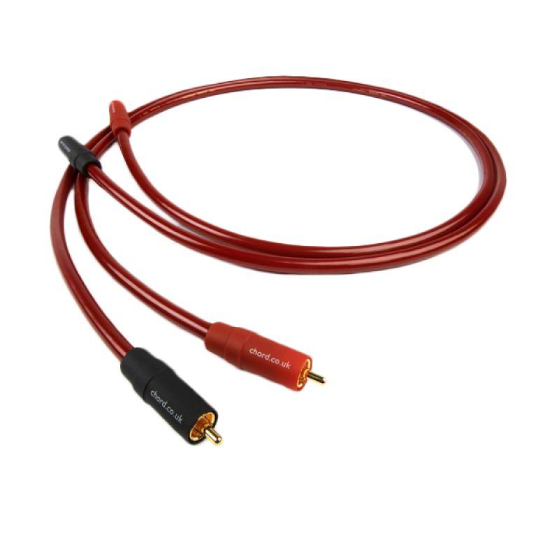 Chord Crimson VEE 3 Stereo RCA Interkonek Kabel [1 m]