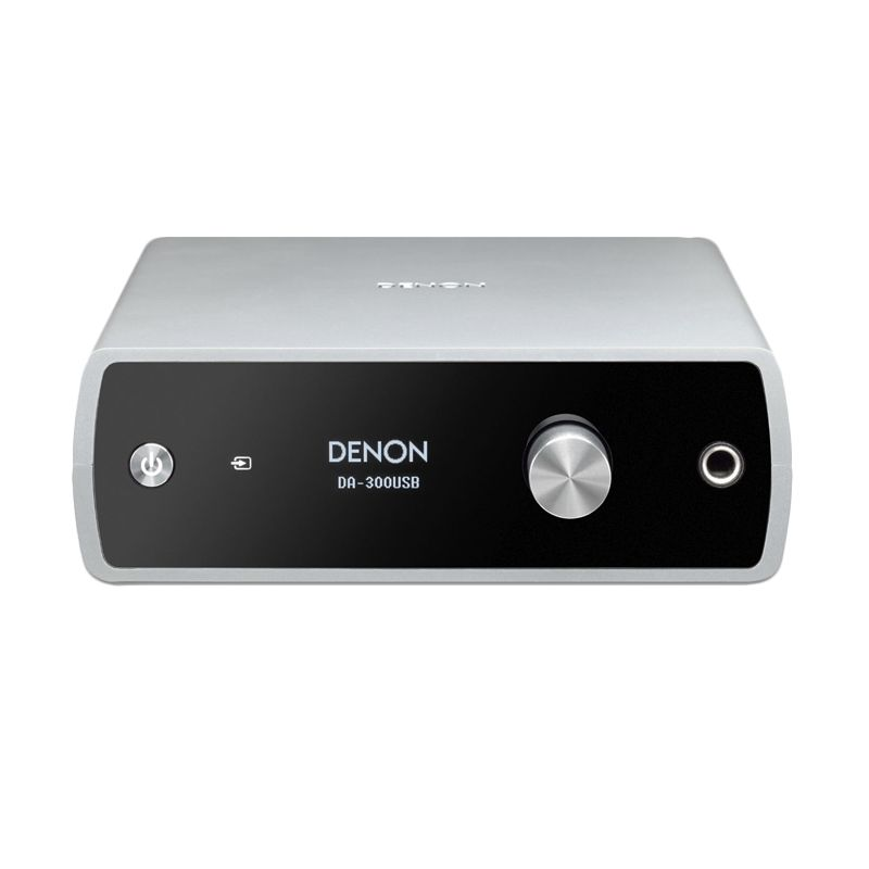 Denon DA-300USB Silver Headphone Amplifier