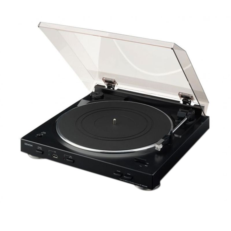 Denon DP-200USB Hitam Turntable