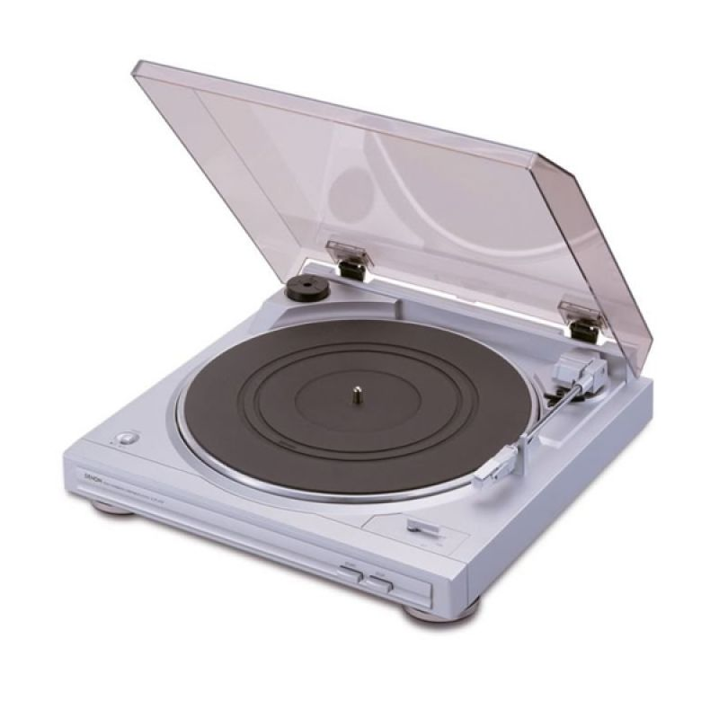 Denon DP-29F Silver Turntable