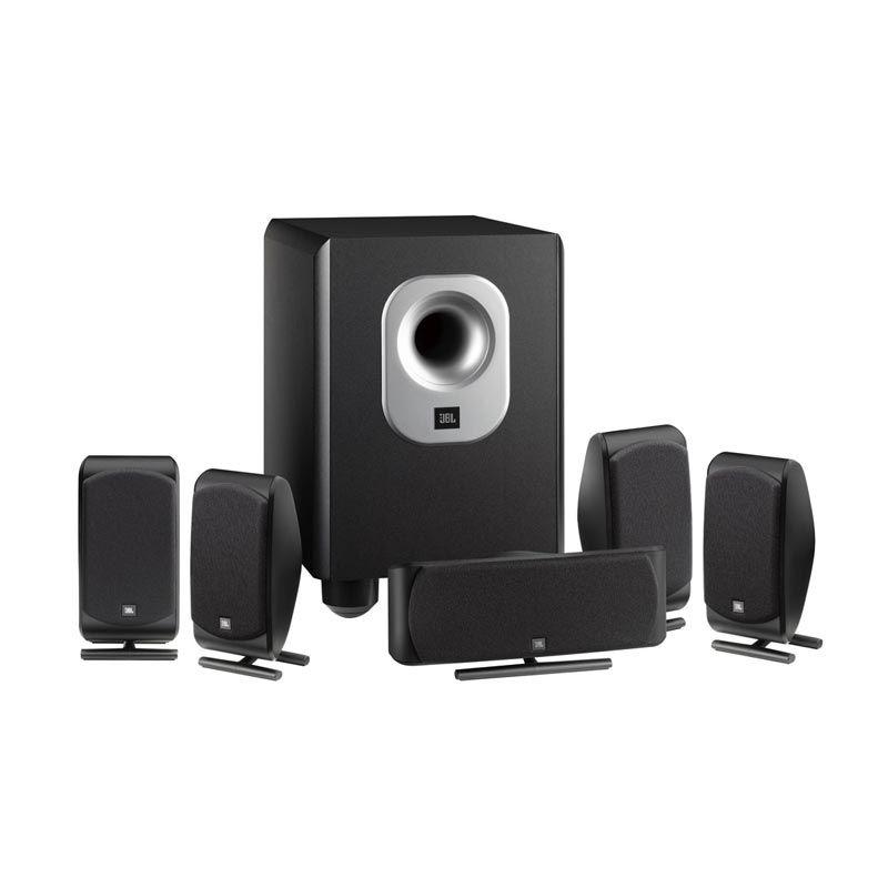 JBL SCS200.5 Hitam Speaker 5.1